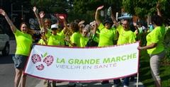 The Grand Healthy Aging Walk Reaches its Objective