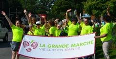 La Grande marche vieillir en santé 2013 atteint son objectif