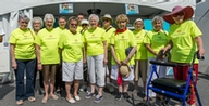 Jardins Intérieurs residents take part in the Fêtes de St-Lambert and the Grand Healthy Aging walk.