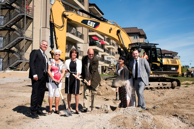 GROUNDBREAKING LAUNCHES CONSTRUCTION OF PHASE III OF CHÂTEAU BELLEVUE RESIDENCE