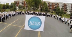 AZUR Residents orchestrate a Flash Mob