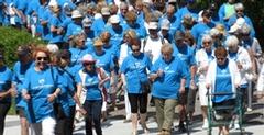 Rassemblement pour la Grande Marche Vieillir en santé à Québec