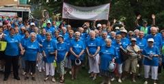 Rassemblement pour la Grande Marche Vieillir en santé à Longueuil