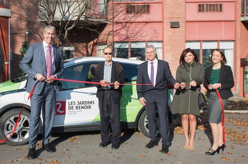 COGIR LAUNCHES THE FIRST TECHNOLOGICAL AND EVNRIONMENT-FRIENDLY CAR-SHARING SERVICE FOR SENIORS IN LAVAL