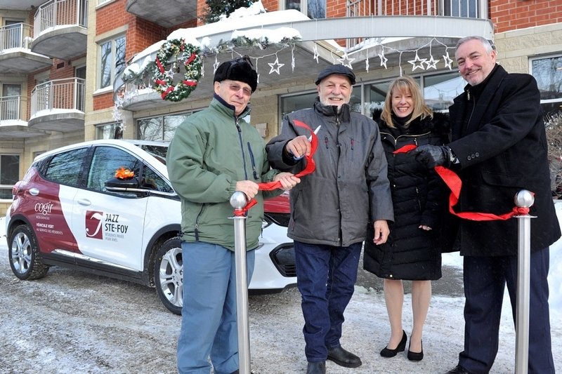Cogir launches the first technological and environment-friendly car-sharing service for seniors in Ste-Foy