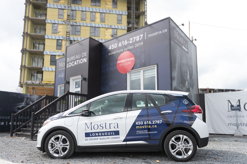 ELECTRIC CAR LAUNCH FOR TENANTS AT MOSTRA LONGUEUIL