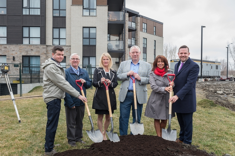 "CONSTRUCTION BEGINS ON BUILDING ""A"" OF THE RIVE GAUCHE SERVICED APARTMENTS, A RENTAL HOUSING"