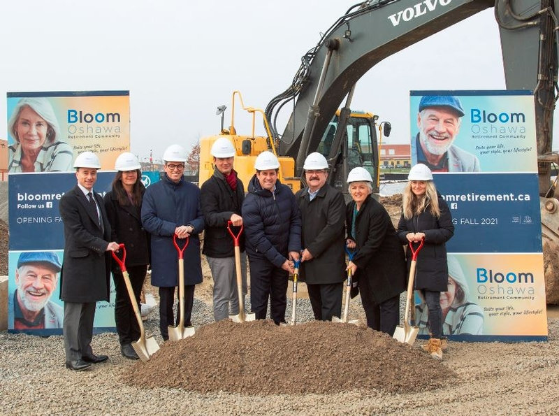 OFFICIAL LAUNCH OF BLOOM OSHAWA, A NEW RETIREMENT COMMUNITY
