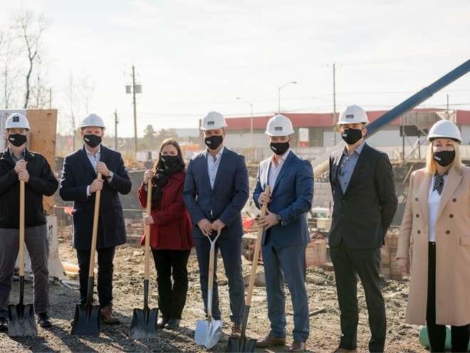 Phase 2 of Station 7 rental condo project officially breaks ground
