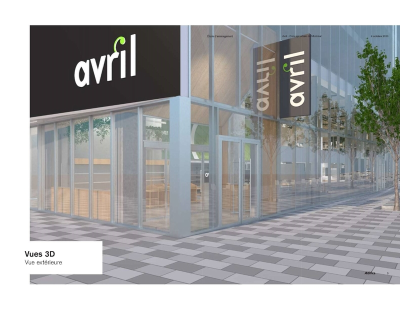 Avril's First Urban Concept Will Begin Operations in Humaniti Montreal in June 2021