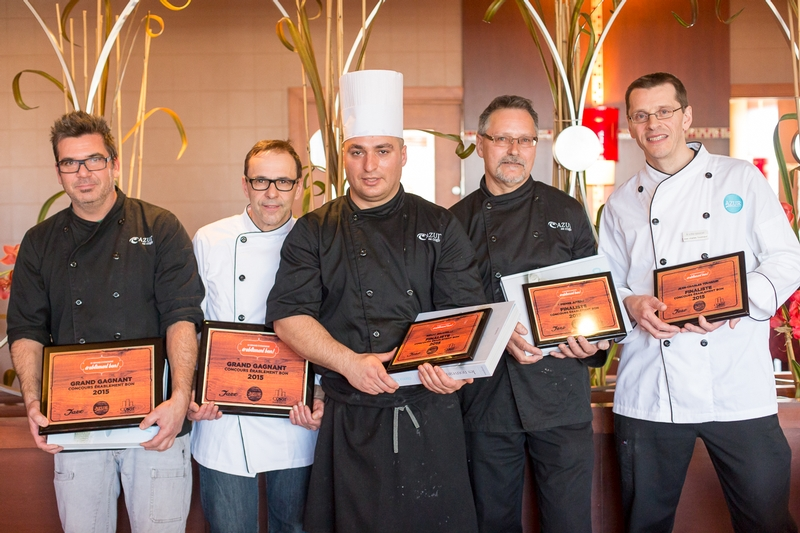The five finalists