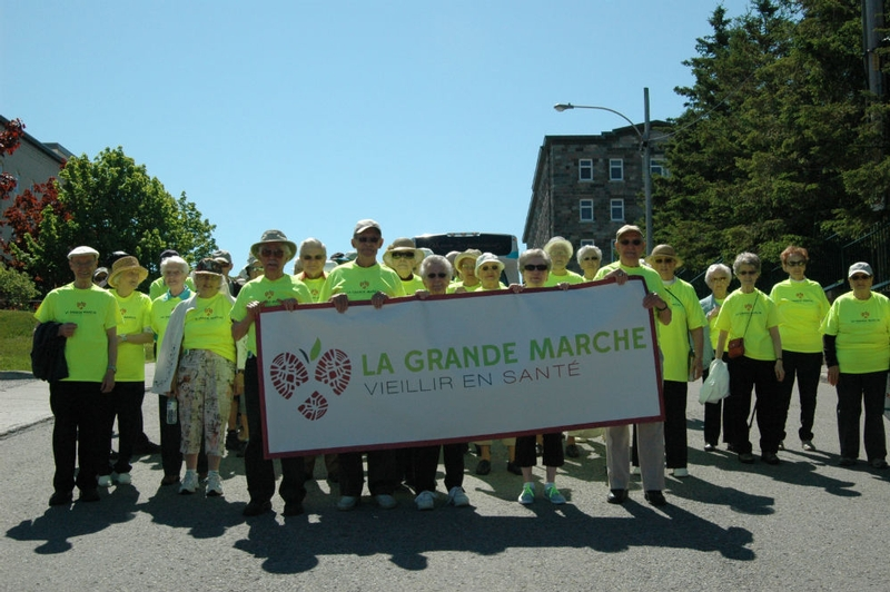 The launching of The Healthy Aging Walk in Rimouski at Manoir les Générations   !