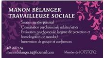 Manon Bélanger - Travail Social