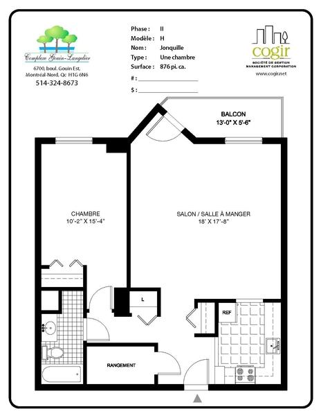 d tails du standard de complexe gouin langelier. Black Bedroom Furniture Sets. Home Design Ideas