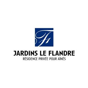 Jardins Le Flandre logo